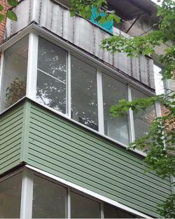 """Балконы примеры работ - компания """"магнат""""."""